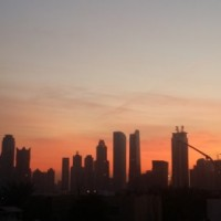 Dubai Sunrise 670x270