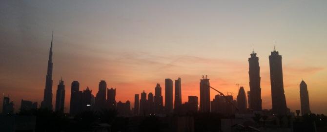 Dubai Sunrise 670x270