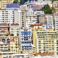 Buildings in Monte Carlo, Monaco