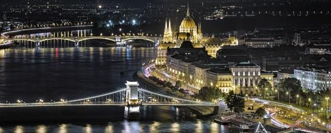 Chain Bridge Budapest, 670x270