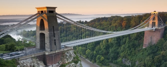 Clifton Suspension Bridge 670x270