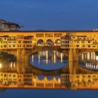 Ponte Vecchio Bridge, Florence, Italy, 670x270