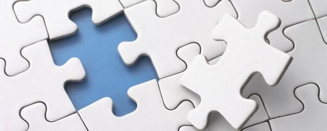 Jigsaw puzzle piece 670x270