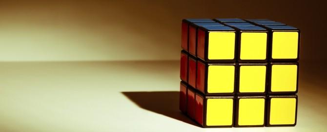 Rubik's cube 670x270