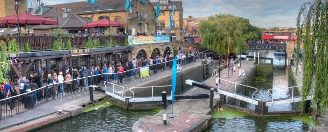 Camden Market and Lock
