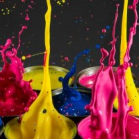 Paint Splash Tins