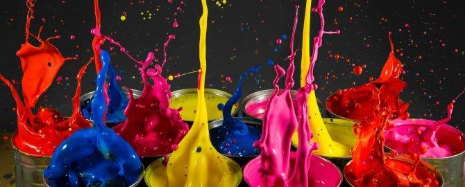 Paint Splash Tins