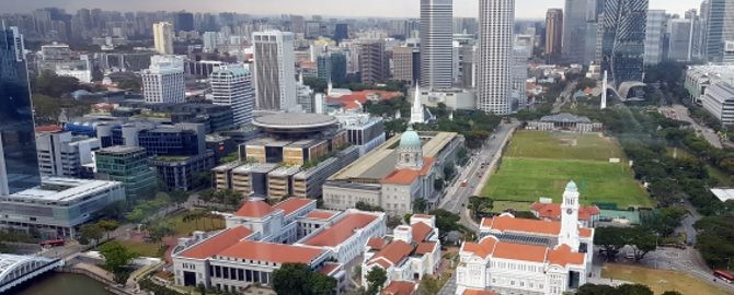 Singapore Supreme Court and Govt Buildings